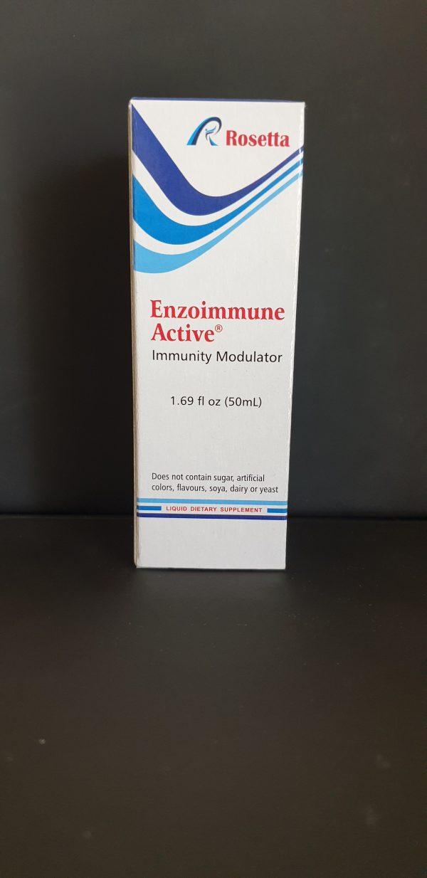 Enzoimmune Active Oral Spray Box Front